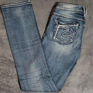 Silver Jean's low rise
